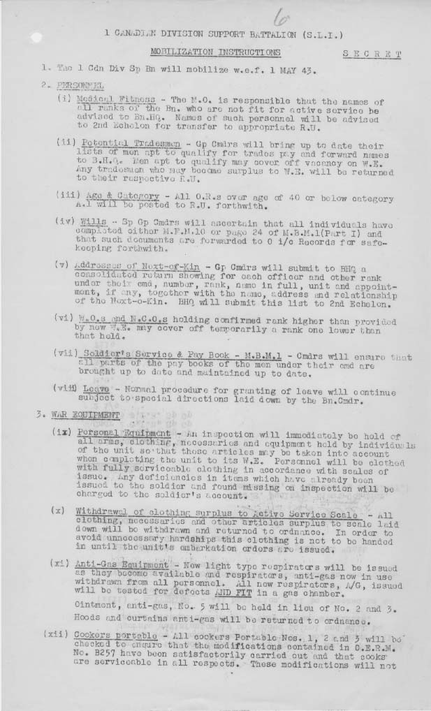U of S Archives Saskatoon Light Infantry World War II Diaries – Tonicity and Osmosis Worksheet