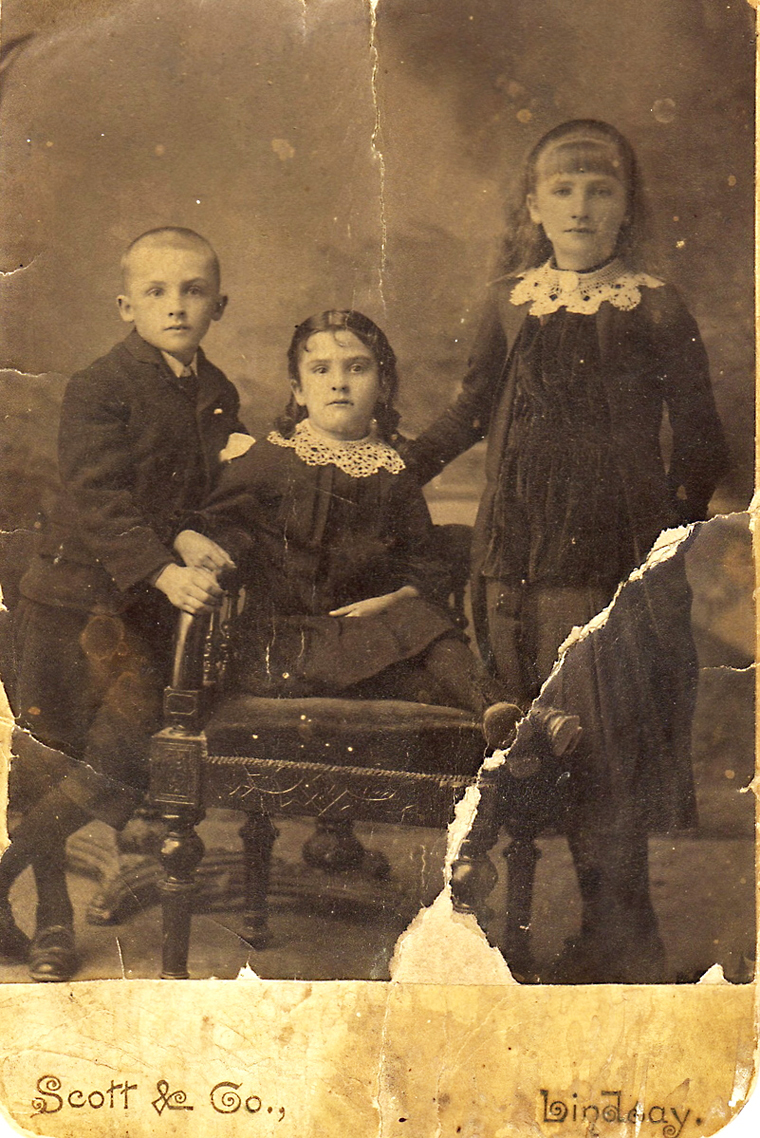 Mann Children in 1885