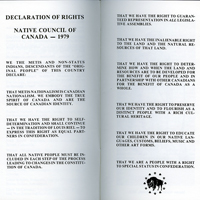 Métis list of rights