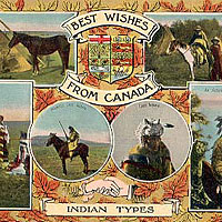 Best Wishes from Canada, Indian types
