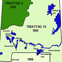 Saskatchewan Treaty Areas Map. Regina: 2007