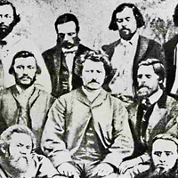 Louis Riel and his advisors